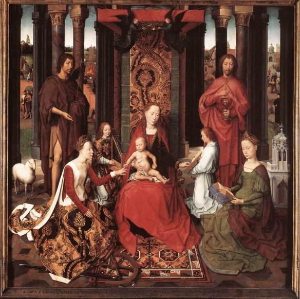 Central Panel Memling Triptych
