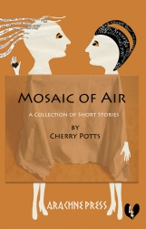 New cover for Arachne Press version of mosaic - image copyright Melina Traub