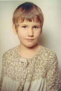 photo of Cherry Potts aged about seven