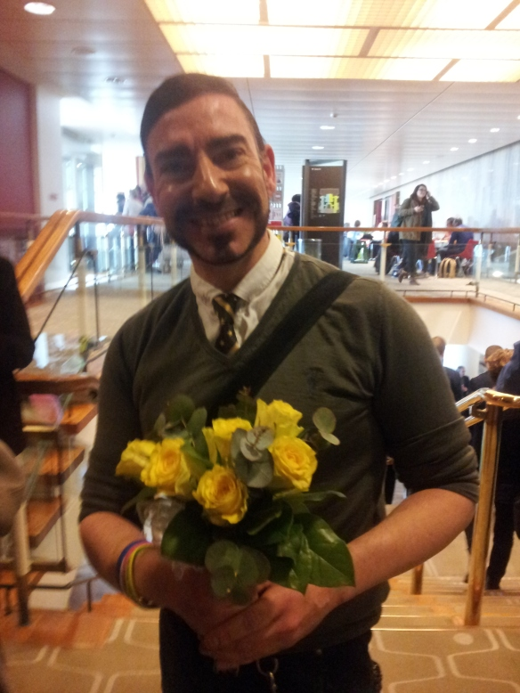 The Man Who Caught Sandi Toksvig's Bouquet