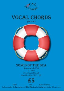 vocal chords July 19th Flyer